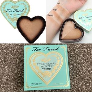 NEW Too Faced Sweethearts Bronzer in Sweet Tea